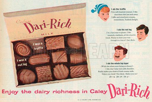 Dari-Rich Advertisement, 1957.