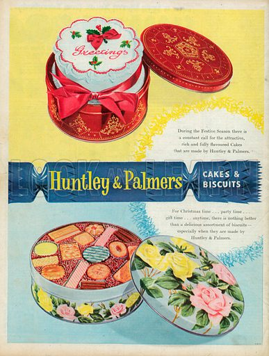 Huntley & Palmers Advertisement, 1957.