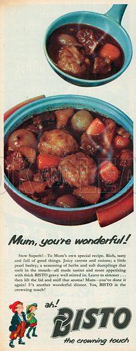 Bisto Advertisement, 1957.