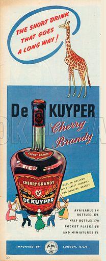 De Kuyper Advertisement, 1957.