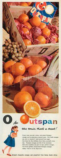 Outspan Advertisement, 1957.