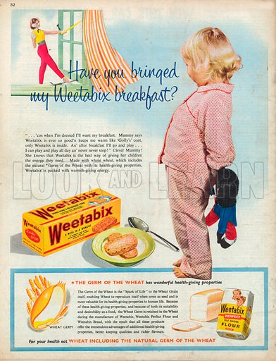 Weetabix Advertisement, 1957.