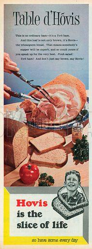 Hovis Bread Advertisement, 1957.