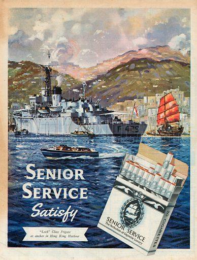 Senior Service Advertisement, 1957.