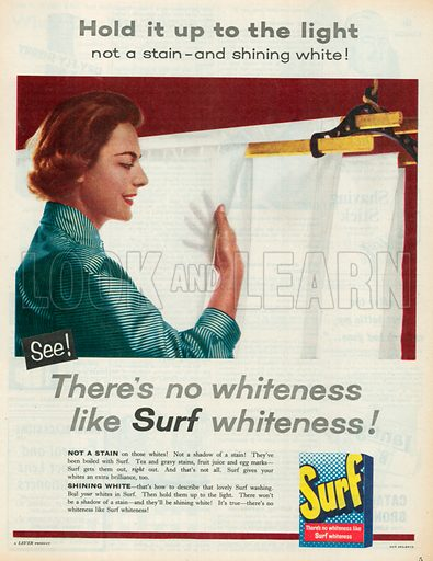Surf Advertisement, 1957.