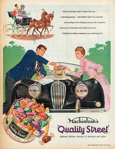 Mackintosh's Quality Street Advertisement, 1957.