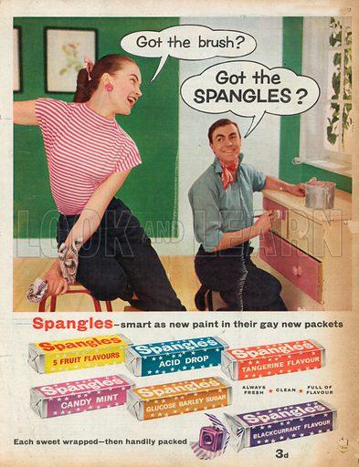 Spangles Advertisement, 1957.