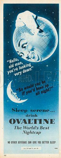Ovaltine Advertisement, 1957.