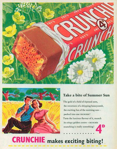 Crunchie Advertisement, 1954.