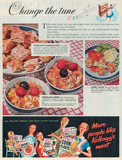 Kellogg's Advertisement, 1954.