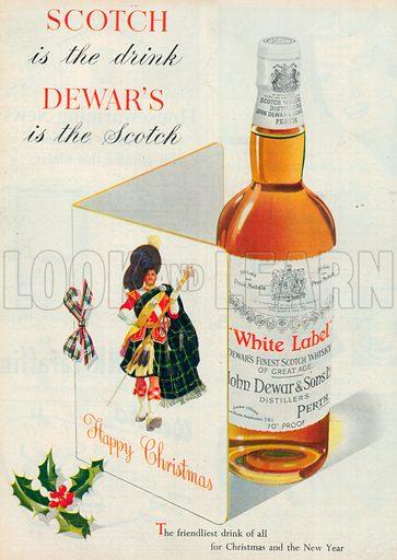 White Label Advertisement, 1954.