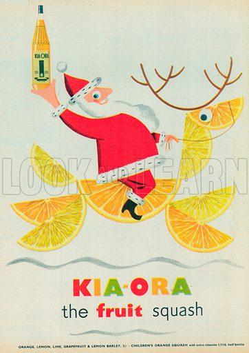 Kia-Ora Advertisement, 1954.