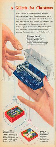 Gillette Advertisement, 1954.