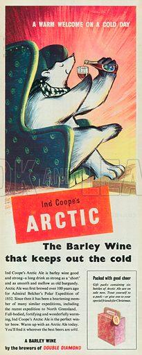 Arctic Advertisement, 1954.