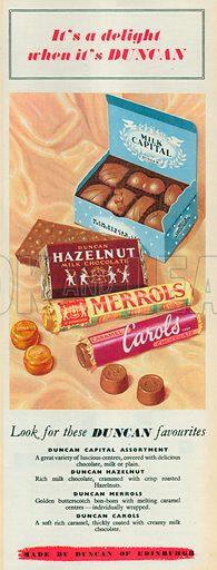 Duncan Advertisement, 1954.