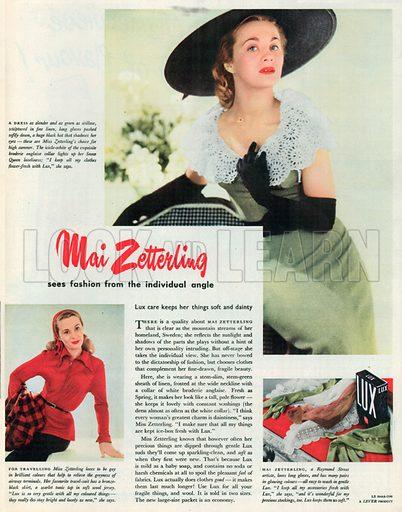 Lux Advertisement, 1954.