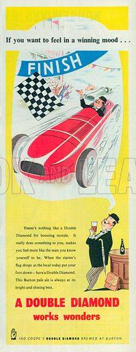 Double Diamond Advertisement, 1954.