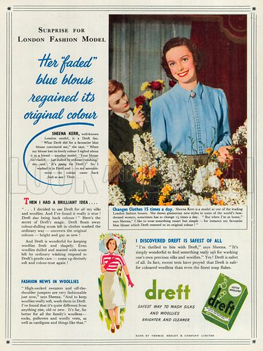 Dreft Advertisement, 1951.