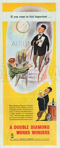 Double Diamond Advertisement, 1951.