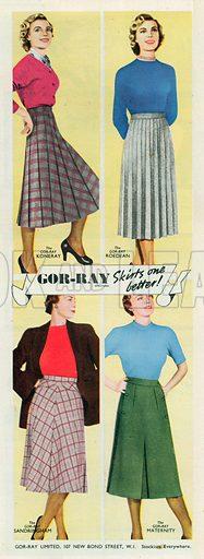Gor-Ray Advertisement, 1951.