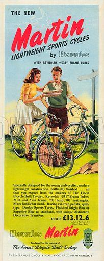 Martin Advertisement, 1951.