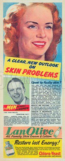Lan Olive Advertisement, 1955.