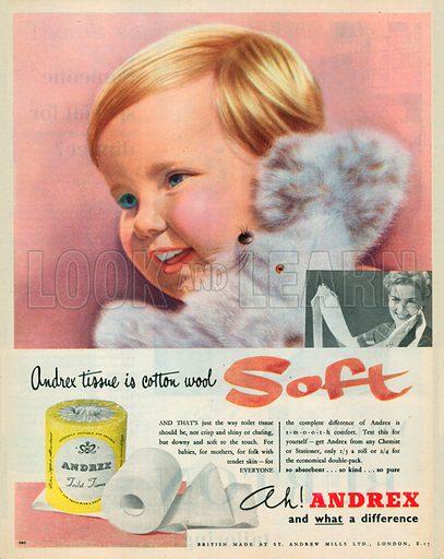 Andrex Advertisement, 1955.