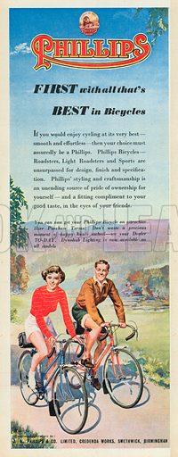 Phillips Advertisement, 1951.