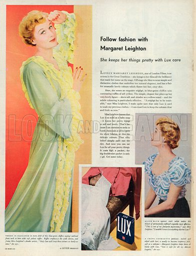 Lux Advertisement, 1951.