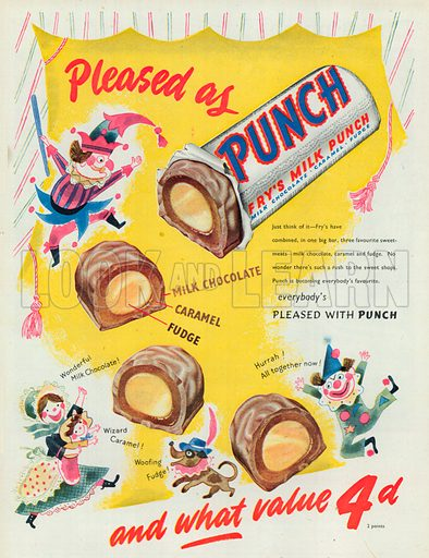 Punch Advertisement, 1951.