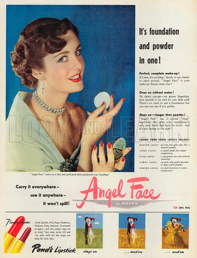Angel Face Advertisement, 1951.