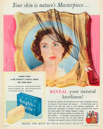 Knights Castile Advertisement, 1951.
