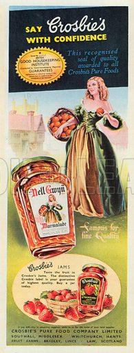 Croslie's Advertisement, 1951.