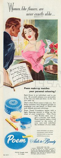 Poem Advertisement, 1951.