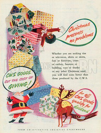 C. W. S. Advertisement, 1950.
