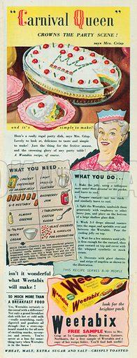Weetabix Advertisement, 1950.
