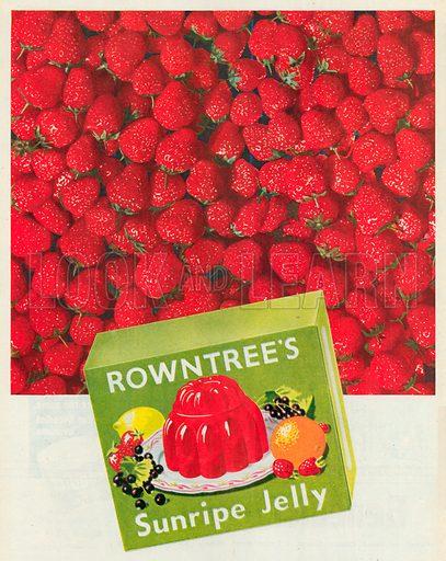 Rowntree's Sunripe Jelly Advertisement, 1950.