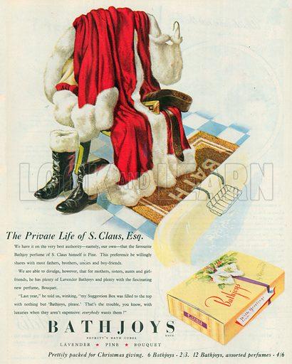 Bathjoys Advertisement, 1950.