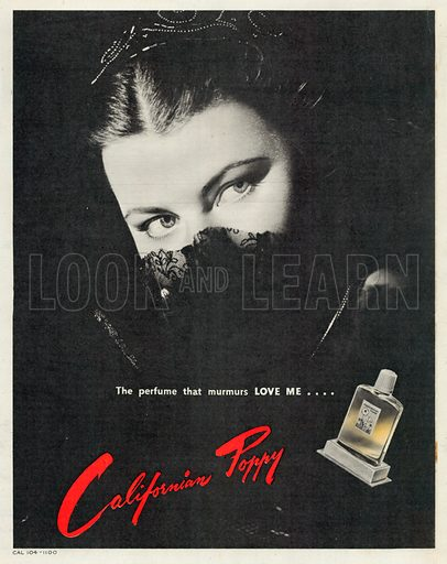 Californian Poppy Advertisement, 1950.