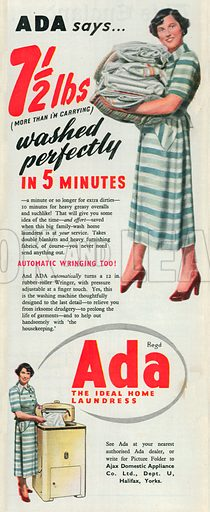 Ada Advertisement, 1950.