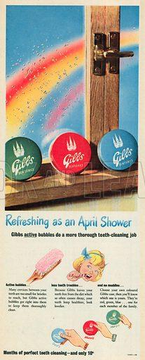 Gibbs Advertisement, 1951.