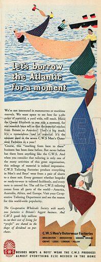C. W. S. Advertisement, 1951.