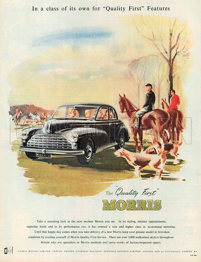Morris Advertisement, 1951.