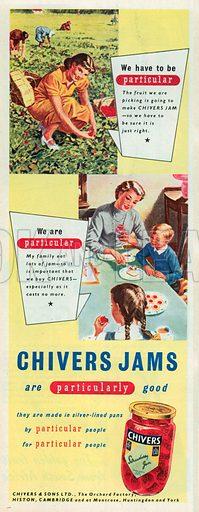 Chivers Jams Advertisement, 1951.