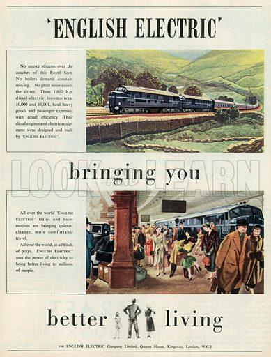 English Electric Advertisement, 1951.