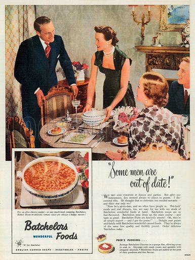 Batchelors Advertisement, 1951.