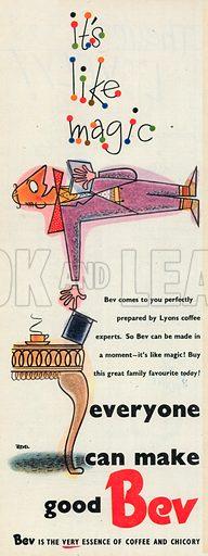 Bev Advertisement, 1951.
