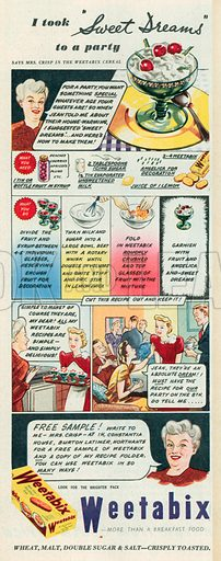 Weetabix Advertisement, 1951.
