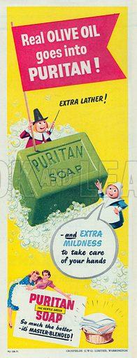 Puritan Soap Advertisement, 1951.