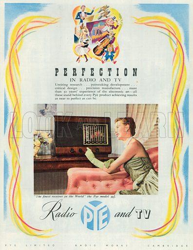 Perfection Advertisement, 1950.